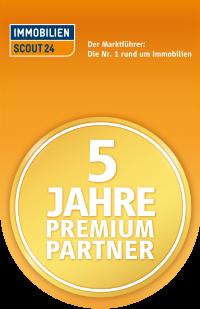 5 Jahre Premium Partner Siegel